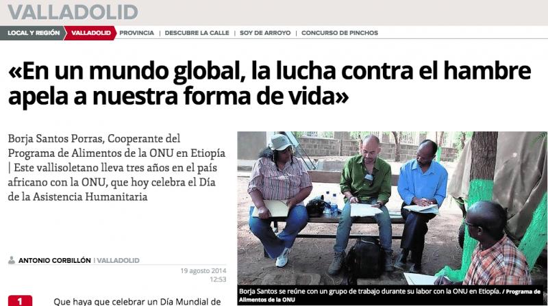 Día de la Asistencia Humanitaria | borjasantosporras.org